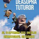 """Animația """"Deasupra tuturor"""", în grădina de vară de la cinematograful din Grădiște"""