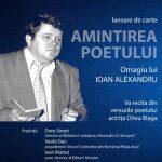 Poetul Ioan Alexandru, omagiat la Biblioteca Județeană