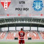 Bilete virtuale pentru meciul UTA – Politehnica Iași