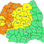 Avertizări meteo pentru județul Arad. Vreme instabilă și ploi abundente