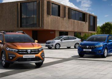 Dacia a publicat primele fotografii cu noile Sandero, Sandero Stepway şi Logan