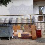 Arădean amendat pentru abandonarea deșeurilor pe domeniul public