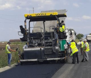 Președintele Consiliului Județean a dispus refacerea unor lucrări pe drumul Arad – Șiria, exclusiv pe banii constructorului