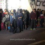52 de migranți din Siria şi Palestina, găsiți ascunși în două autovehicule la PTF Nădlac II