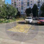 Trecere de pietoni neautorizată, pe o stradă din municipiul Arad
