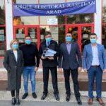 Alianța Renașterea Națională, filiala Arad, a depus candidaturile pentru Senat și Camera Deputaților