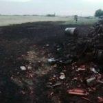 Zeci de animale arse într-un incendiu la Sintea Mică