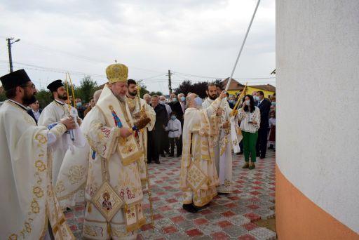 O nouă biserică închinată Sfântului Sava Brancovici în Ineu, la 400 de ani de la naşterea sa