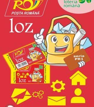 Loteria Română lansează un nou loz răzuibil, vândut doar prin oficiile poştale