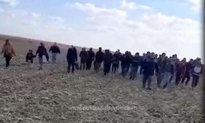 47 de migranți din șase țări, depistați de polițiștii de frontieră arădeni