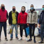 Migranți din Afganistan, Maroc, Algeria şi Turcia, opriţi la graniţa cu Ungaria