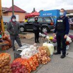Autoritățile în control la piața din Pâncota