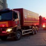 Ventilatoare de terapie intensivă, transportate în Cehia cu două camioane ale ISU Arad
