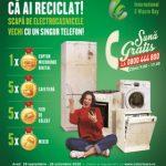 Campanie de reciclare a deșeurilor electrice, la Arad. Ce premii puteți câștiga