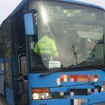 Acțiune a polițiștilor arădeni. Controale în mijloacele de transport în comun