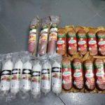 Un bărbat a furat 21 de rude de salam dintr-un magazin. Jandarmii arădeni l-au depistat în tramvai