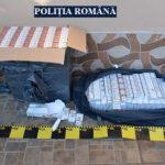 Percheziții la Arad. Țigări de contrabandă, descoperite de polițiști