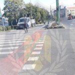 Amenzi pentru trecere prin loc nepermis sau pe culoarea roșie a semaforului