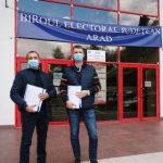 UDMR Arad a depus la BEJ listele cu candidații pentru alegerile parlamentare