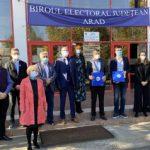 USR PLUS a depus candidaturile pentru alegerile parlamentare din județul Arad
