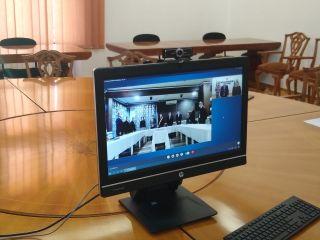 Constituirea consiliilor locale din județul Arad, prin videoconferinţe cu prefectul