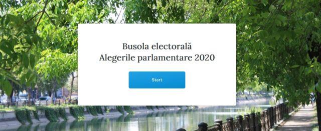 Busola electorală pentru alegerile parlamentare. Alegătorii pot să compare programele electorale