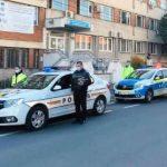 UPDATE Polițiștii arădeni au ținut un moment de reculegere pentru un coleg răpus de COVID-19
