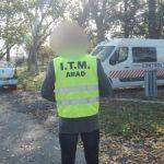ITM Arad a efectuat controale la transportatorii rutieri de mărfuri și călători