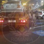 Mașini ridicate pentru că au fost parcate în locuri nepermise, în Arad