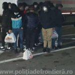 43 de migranți, depistați de polițiștii de frontieră din județul Arad