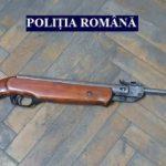 Bărbat din Gyula, prins cu o armă și muniție în cimitirul din Chișineu Criș