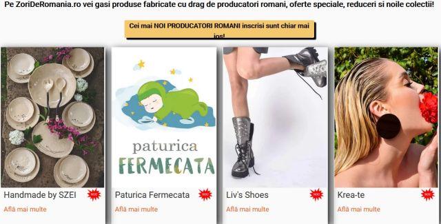 Producătorii români, promovaţi pe noua platformă ZoriDeRomania.ro