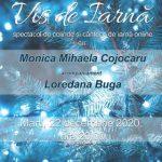 """""""Vis de iarnă"""" – spectacol de colinde și cântece de iarnă, online, cu Monica Mihaela Cojocaru și Loredana Buga"""