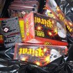 Materiale pirotehnice, confiscate de polițiștii arădeni