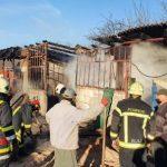 Incendiu la un atelier de tâmplărie din Pecica