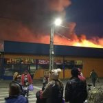 Incendiul care a cuprins un supermarket din cartierul Gai, declanșat de un scurtcircuit