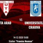 """Corneliu Papură (U Craiova): """"UTA e o echipă incomodă, sperăm să reuşim să o desfacem"""""""
