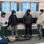 11 migranți din Afganistan, depistați ascunşi în două TIR-uri la PTF Nădlac II