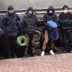 Migranți prinşi pe câmp sau ascunşi într-un camion, la graniţa cu Ungaria