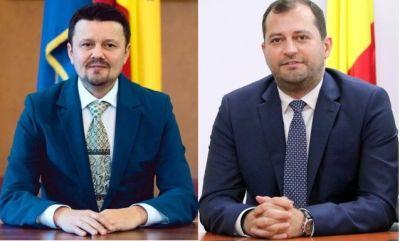 Ionel Bulbuc şi Răzvan Cadar, aleşi vicepreşedinţi ai Consiliului Judeţean Arad