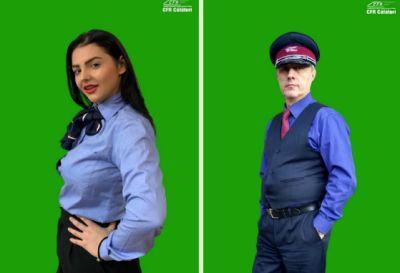 CFR Călători introduce uniforme noi pentru personal, în culorile bleumarin, bleu şi vişiniu