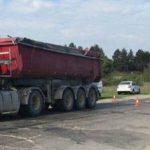 Controale pe drumurile dintre Arad și Timiș. Sunt vizate vehiculele de mare tonaj