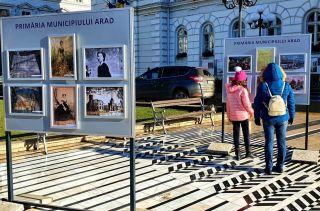 """Expoziția """"Mica Unire în imagini"""", în centrul Aradului"""