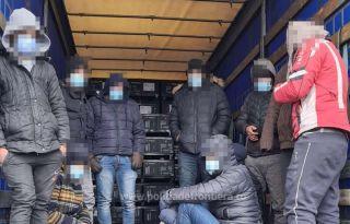 Migranți din Irak și Turcia, depistați la PTF Nădlac II