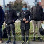 Migranți prinși în timp ce încercau să treacă ilegal frontiera în Ungaria