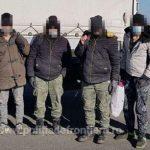 Migranți din Afganistan, Siria, Congo și Camerun, depistați de poliţiştii de frontieră