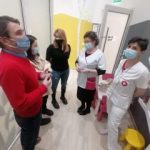 Primarul Călin Bibarț a vizitat Secția Pediatrie II a Spitalului Clinic Județean de Urgență Arad