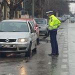 Acțiune a polițiștilor rutieri, în Arad. Peste 40 de amenzi, în două ore