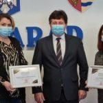 Cei mai activi voluntari în perioada pandemiei, distinși cu diplome de excelență