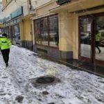Curățarea zăpezii de pe trotuare, obligația cetățenilor și a agenților economici